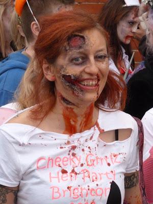 Zombie day Brighton