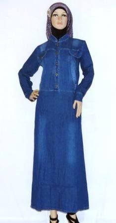 Gamis Jeans Modern GJ1080