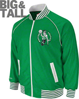 Boston Celtics Big and Tall Jacket