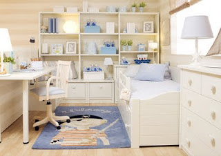 Dormitorios para ni as las princesas de la casa - Dormitorios de nina en blanco ...