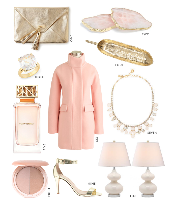 rose gold fashion