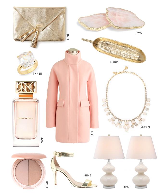 rose gold fashion