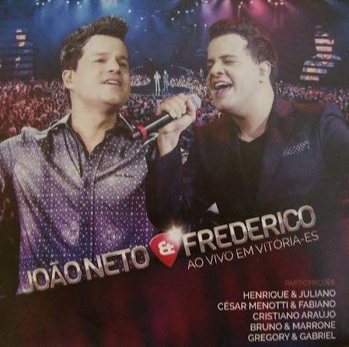CD João Neto e Frederico Ao Vivo em Vitoria-ES