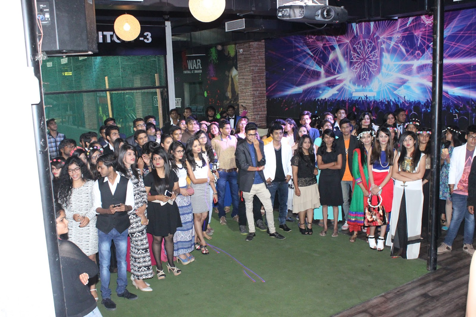 IDT Surat Students Freshers Party