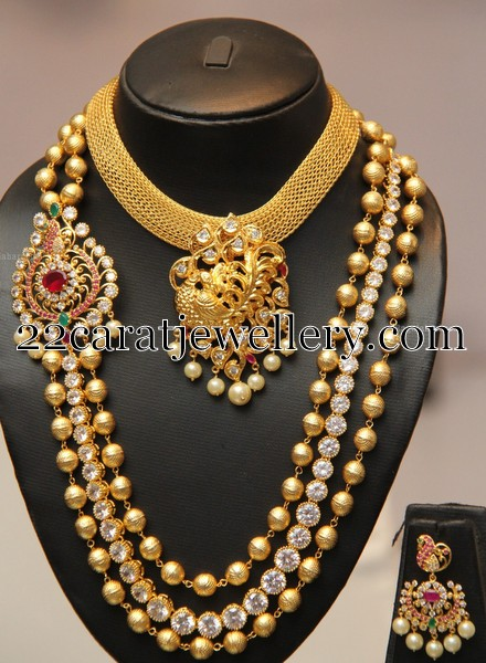 Trendy Jewelry With Stones And Beads Jewellery Designs