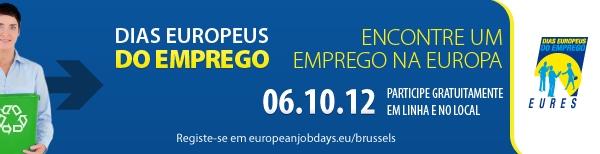 Dias Europeus do Emprego na Bélgica - 2012
