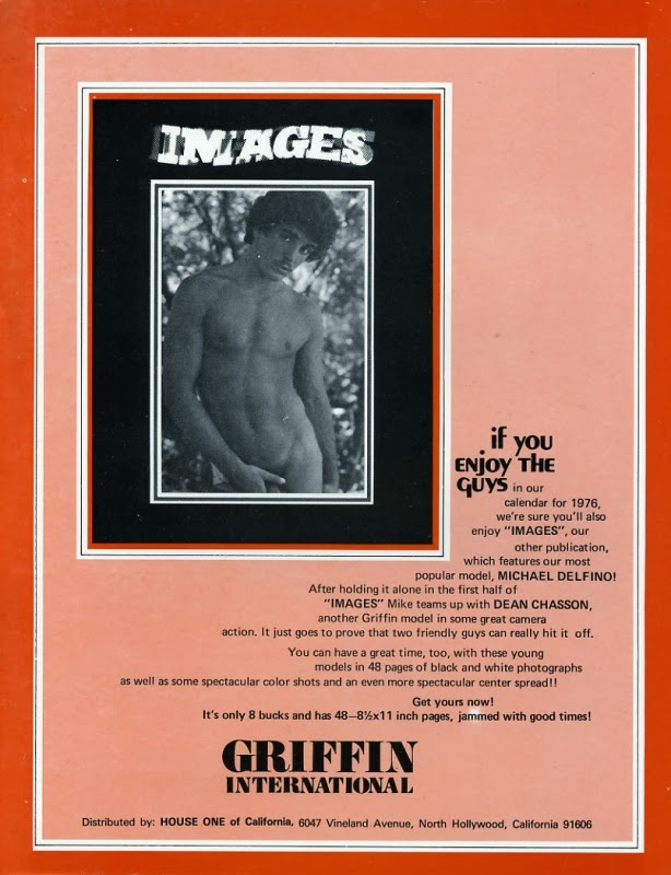 Griffin Calendar 76 Cover Back