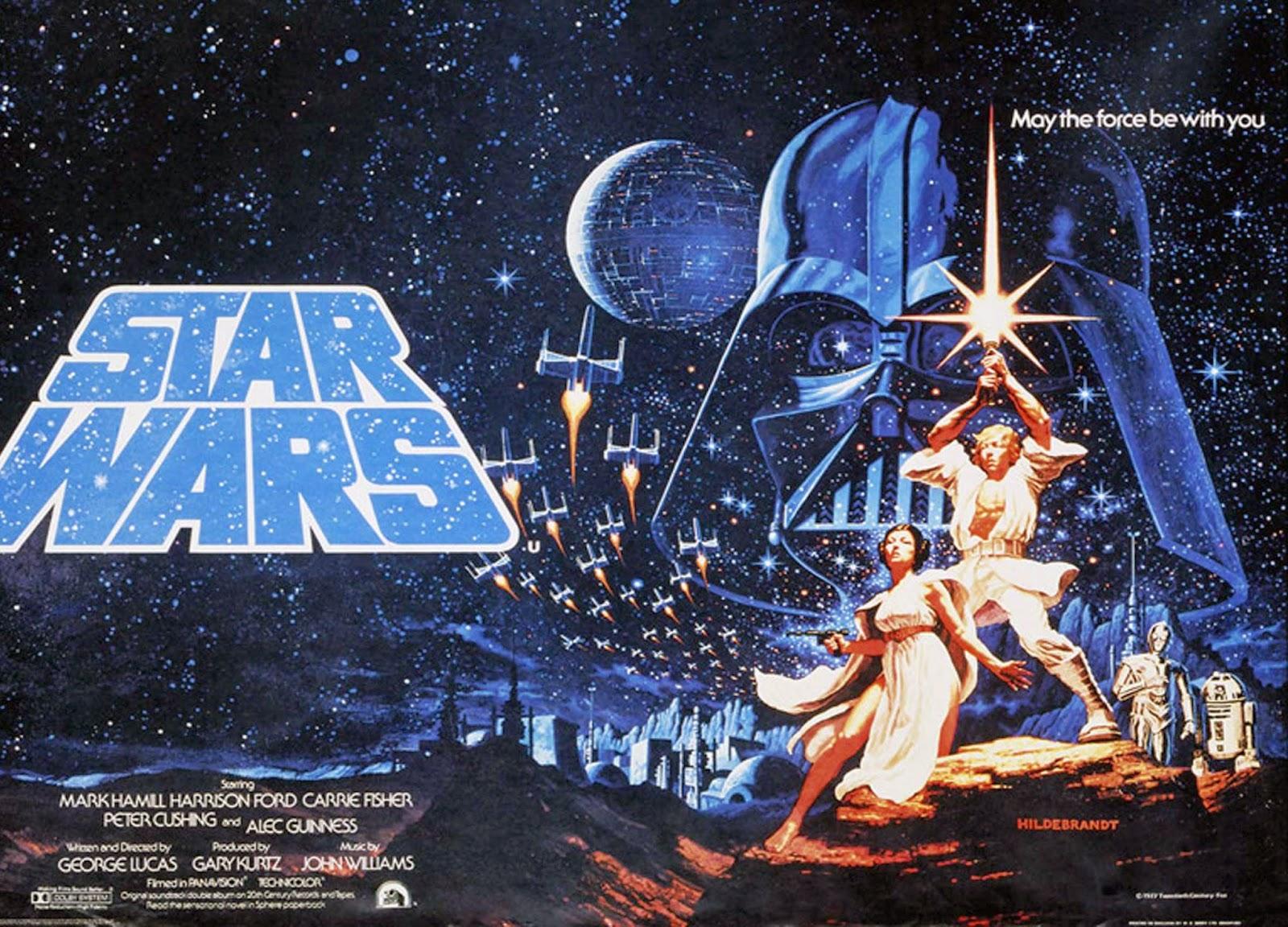 La Guerra de las Galaxias portada original