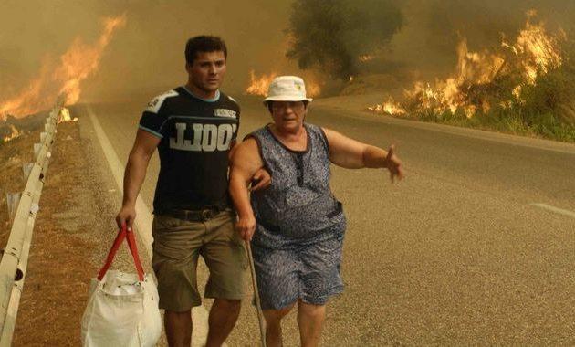 Χειροπέδες στον καταζητούμενο πυροφύλακα για τις φωτιές στην Ηλεία το 2007itemprop=