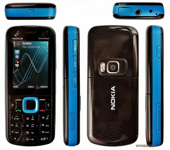 Spesifikasi dan Harga Nokia 5320 XpressMusic Terbaru