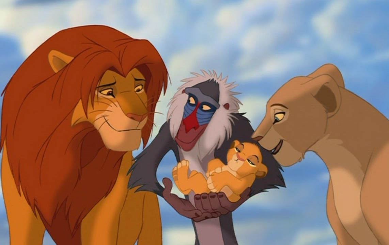 walt disney animal lion king wallpaper for kids