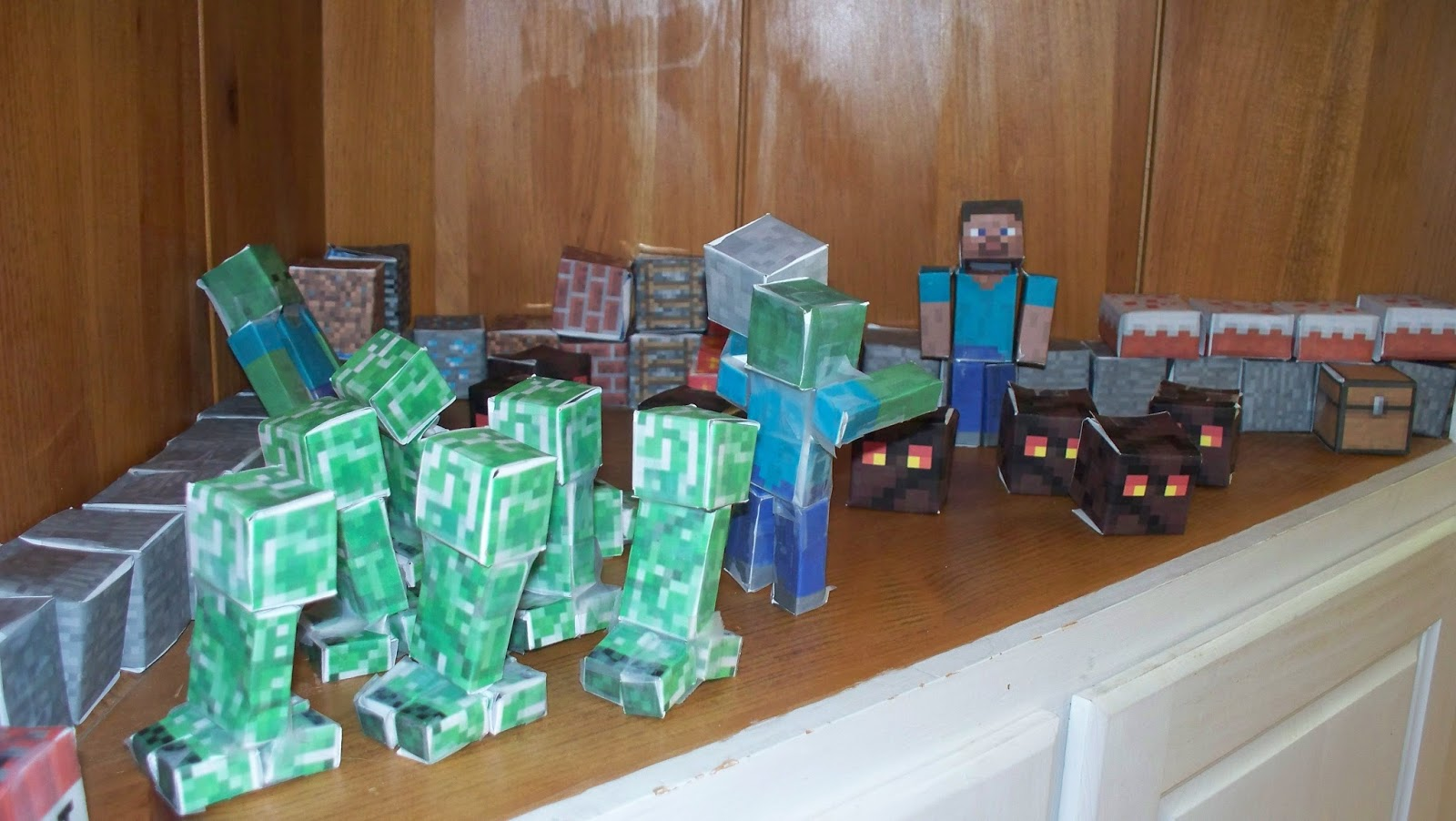 Minecraft 8th birthday party
