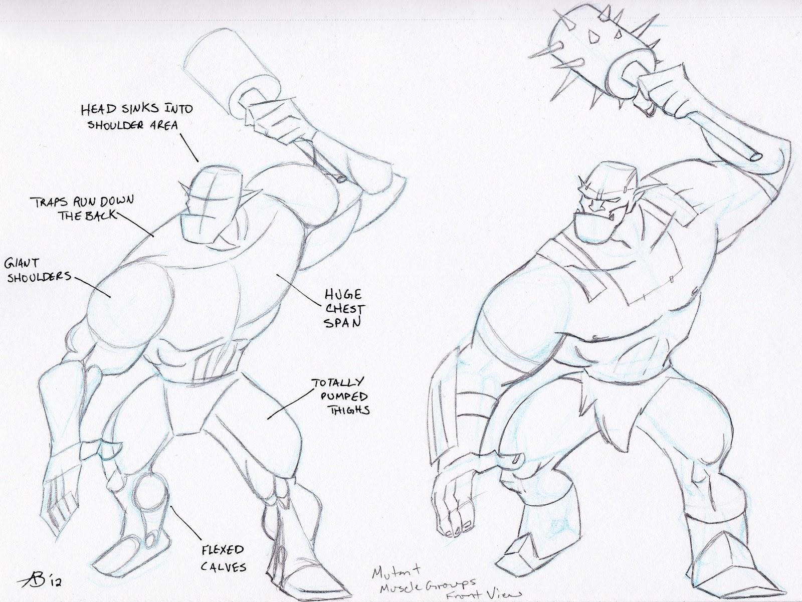Anthony Bachman Illustrator: 187 - on a mutha funkin Mutant!