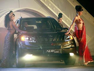 Mahindra XUV500 Bollywood Style Launch