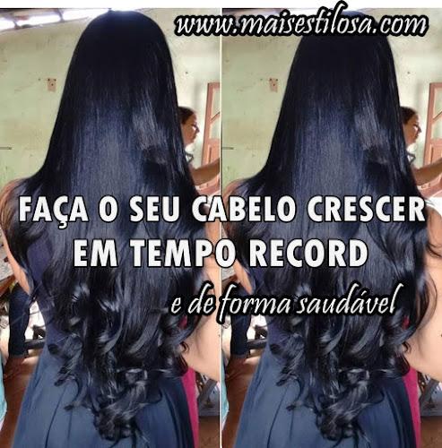 VENHA FAZER O SEU CABELO CRESCER EM TEMPO RECORD