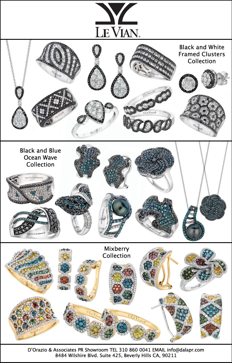 The Daily Jewel Le Vian Introduces The Exotics Collection