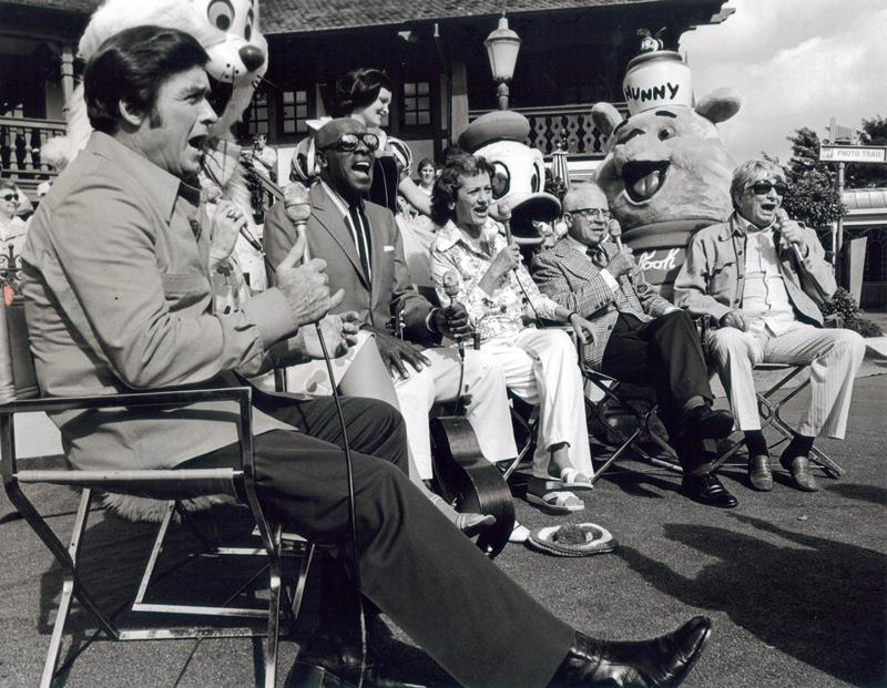 With tv Host Mike Douglas