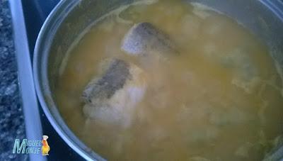 Receta de Cocina Pescadilla en Gazpachuelo