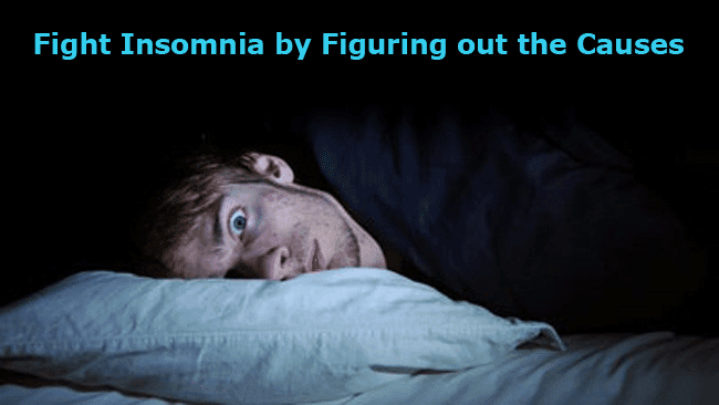 Trivia: Fight Insomnia by Figuring out the Causes of Stress and Changing Habits