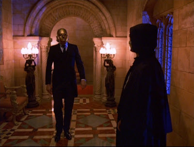 Tom Cruise in a mask, masquerade ball, mansion, Eyes Wide Shut