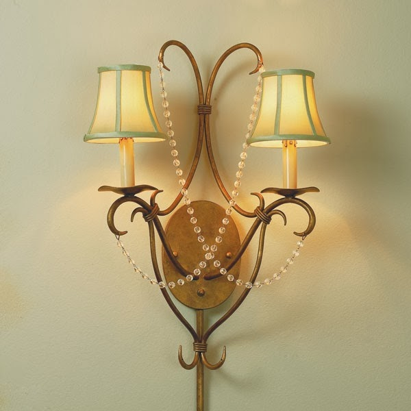 Wall Mount Sconce Plug In : Wall Light Fixtures Types: Plug In, Sconce, Mounted Lights - Bedroom and Bathroom Ideas