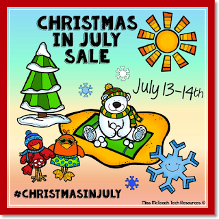 Sale July 13 & 14 on TpT
