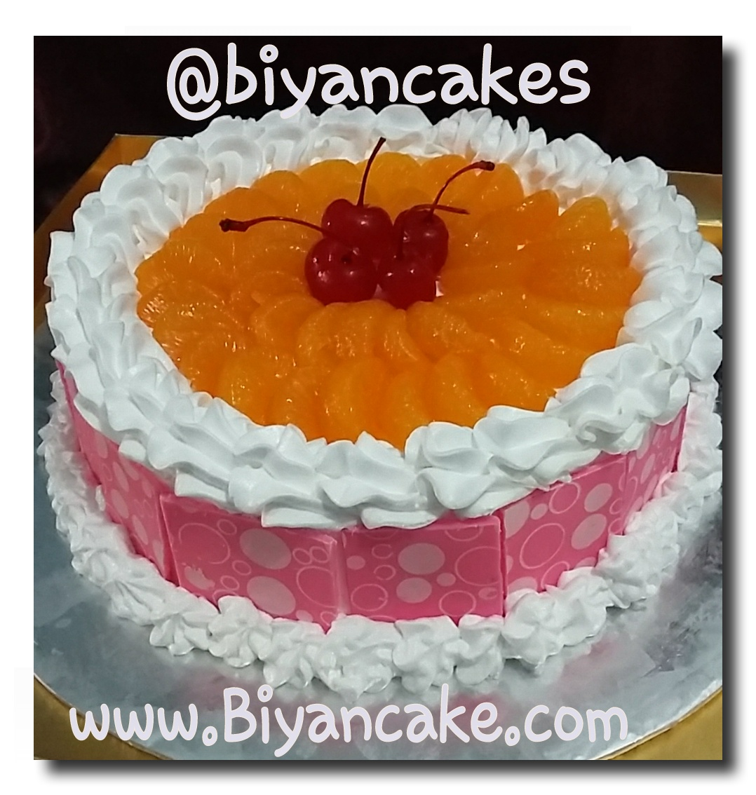 Fruit cheese cake ~ Nasya