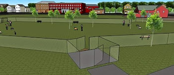 Fancy Computer Renderings of City Dog Park
