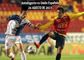 Antofagasta vs Unión Española En vivo, lo transmite CDF este Lunes 24 de Agosto 2015