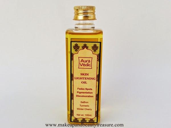 skin lightening oil