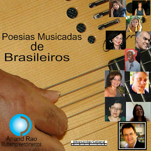 CD DE POESIAS MUSICADAS DE POETAS  BRASILEIROS LANÇADO GRAVADO NO BRASIL E LANÇADO NA EUROPA