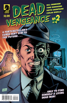 Cover of Dead Vengeance #2, courtesy of Dark Horse Comics