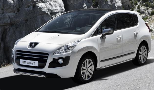 Peugeot participa en el V Eco Rallye