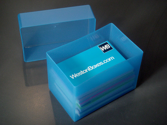 Plastic Boxes & Storage Solutions Plastic Business Card