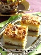 Švédsky tvarohový koláč - recept