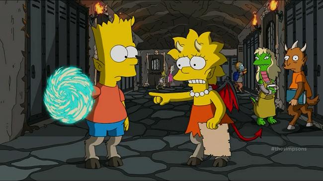 Los Simpsons- Capitulo 04 - Temporada 26 - Audio Latino -  La Casita del Horror XXV