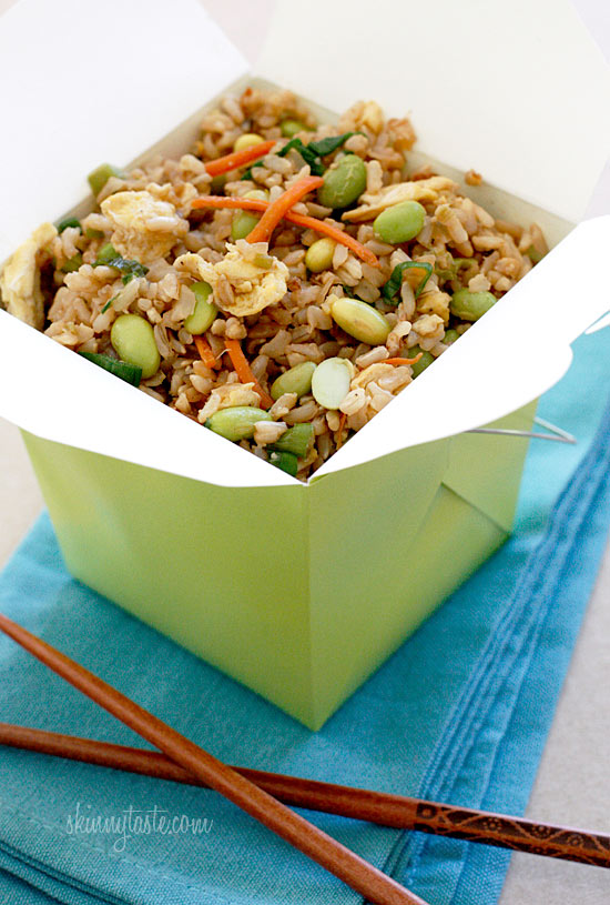 version of your favorite take-out! I'm a sucker for Chinese fried rice ...