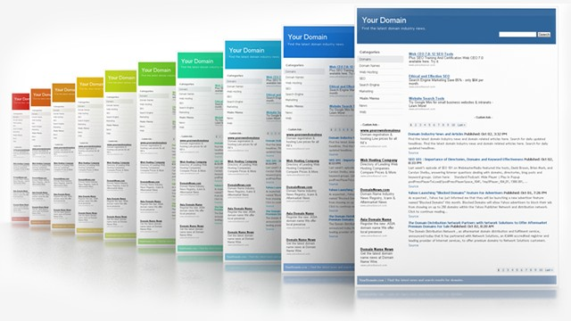 kiểu trang index item archive static page