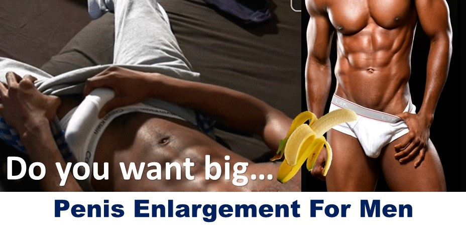 Penis enlargement for men