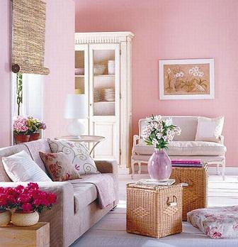 Những tông mầu đẹp cho phòng khách vào mùa hè