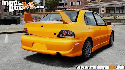 IV - Mitsubishi Lancer Evolution IX MR