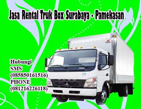 Jasa Rental Truk Box Surabaya - Pamekasan