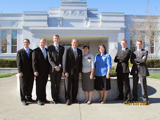 Medford Temple with Elders and Sisters