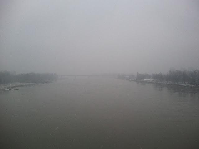 Wisła. Widok z Mostu Poniatowskiego