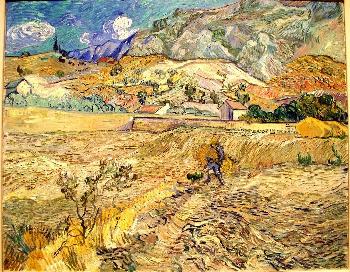 Van Gogh Landscape at Saint-Remy
