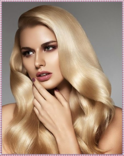 Moderne Frisuren für blonde Haare 2014