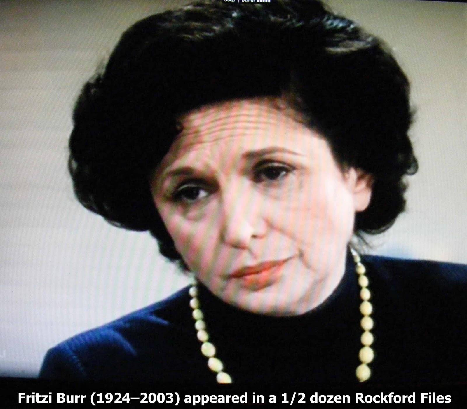 Fritzi Burr