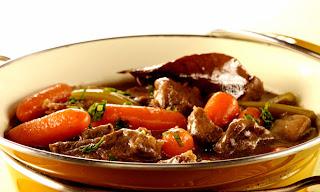 Carne cozida light