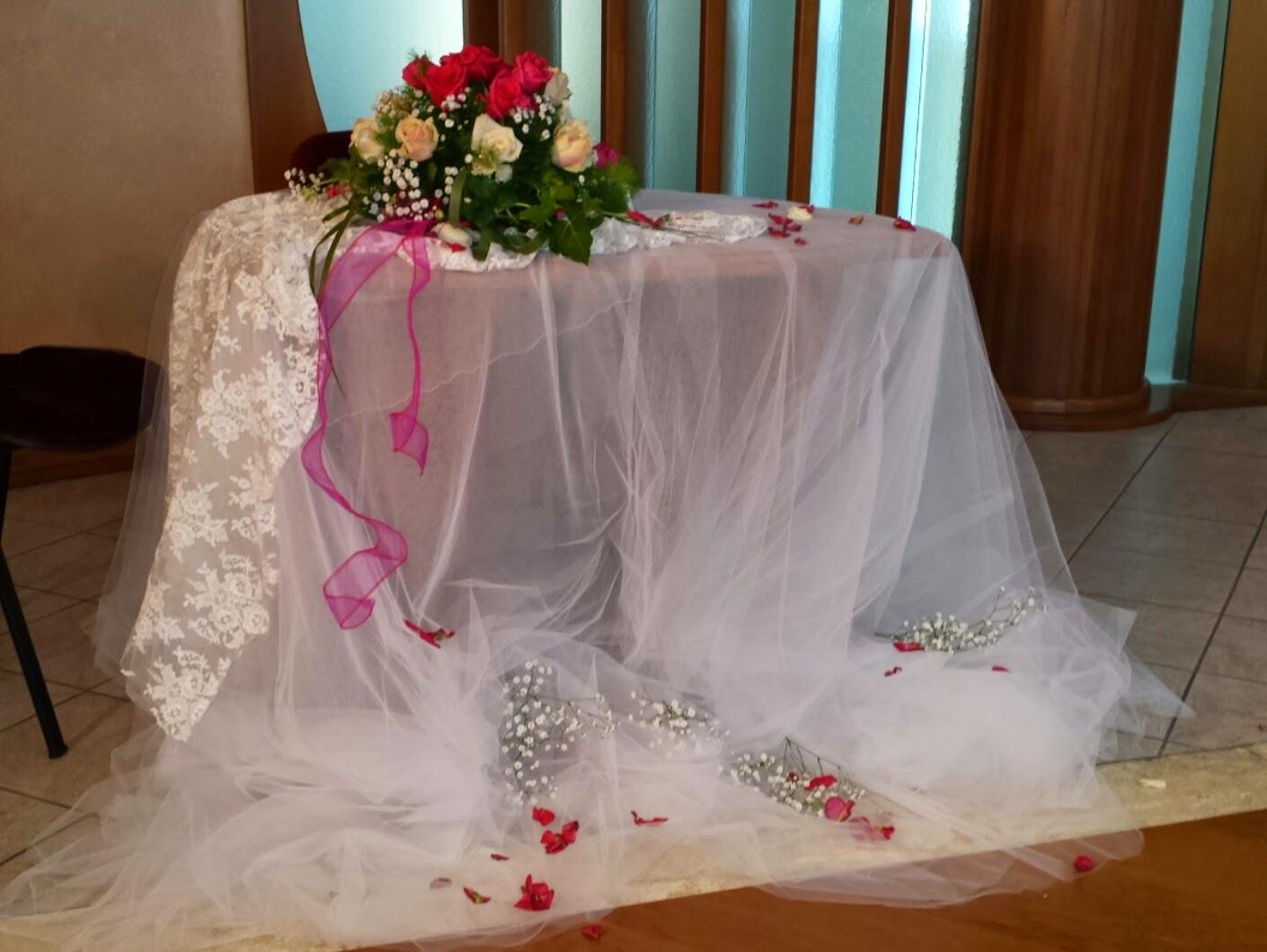 Tavoli da sposa per regali ix63 regardsdefemmes - Tavolo matrimonio casa sposa ...