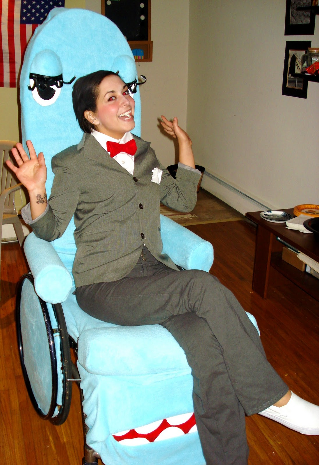 Our Hungry House Halloween Costumes With Wheelchairs